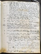 Walt Whitman's daybook, October and November 1889