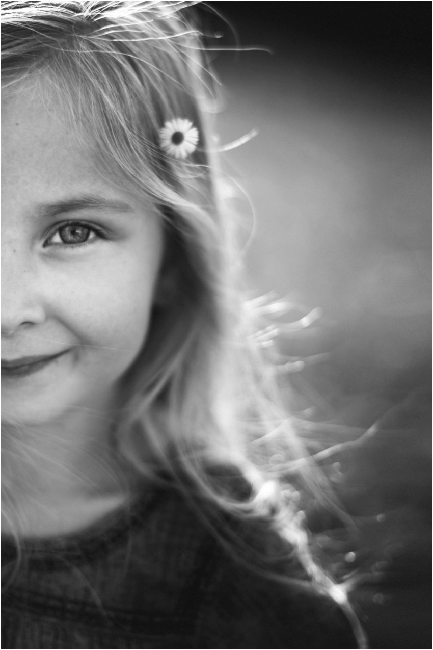 portrait of a little sweet girl | Jacksonville Children Photographer