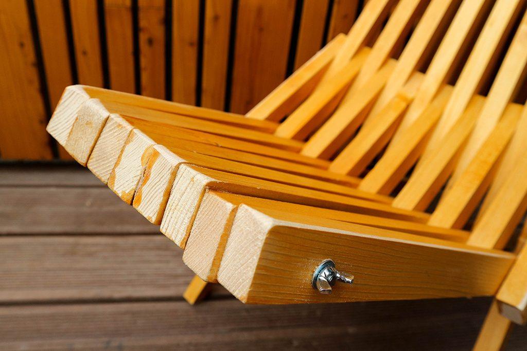Fabriquer Une Chaise Pliante Kentucky Avec Des Tasseaux De