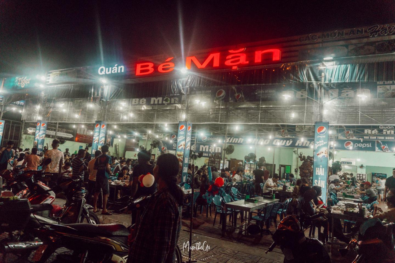 [越南峴港] Quan Be Man 地道 海鮮餐廳 | 峴港必吃美食推薦 - MC on the Go
