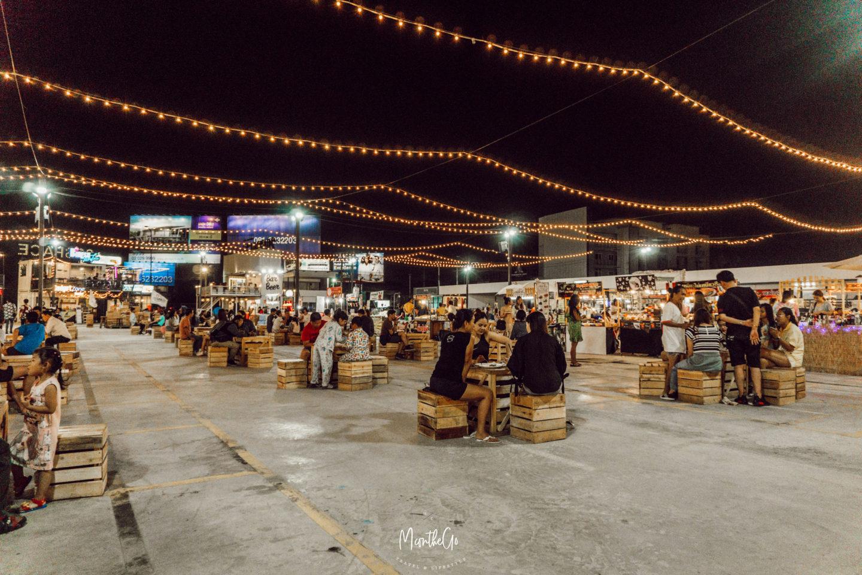 [泰國曼谷] 2019年全新夜市   20space : market 氛圍超棒喝酒聽歌好去處 - MC on the Go