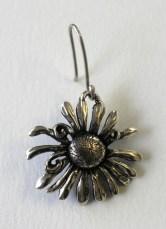 Felicia: Earrings, silver