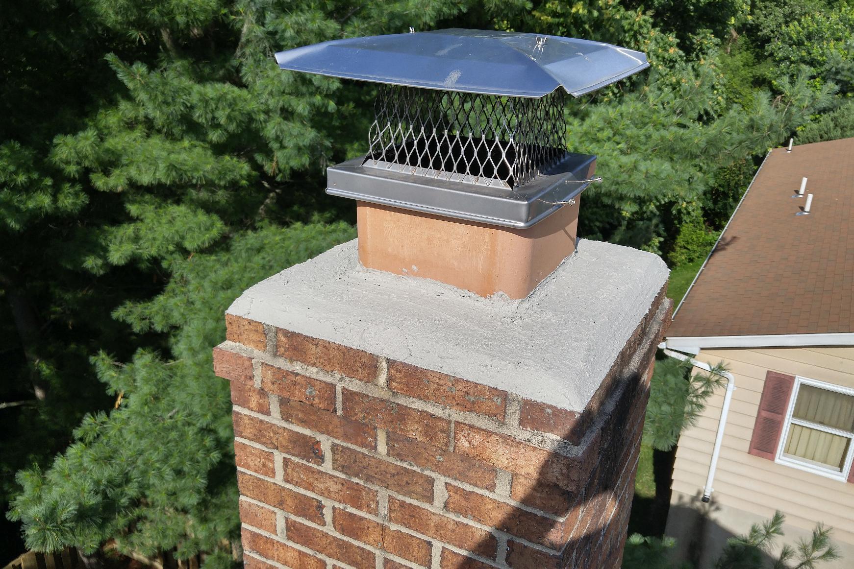 Fireplace Chimney Cap Amp Damper Repair Chimney Top