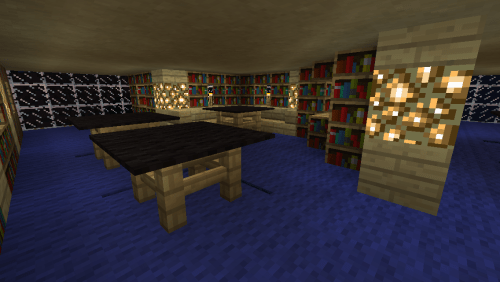 Level 7 is the widest floor. Lots of work and read space.