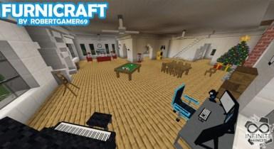 Furnicraft 3D BLOCK   Minecraft PE Addons