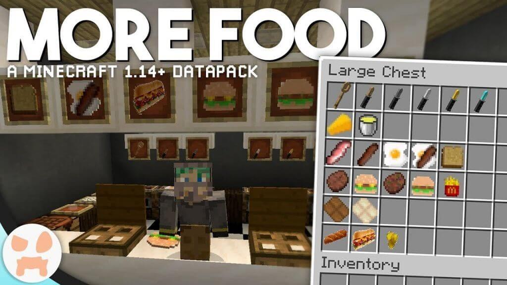 Lots More Food Bedrock