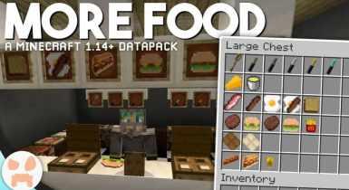 Lots More Food Bedrock Add-on (v10) | Minecraft PE Add-ons