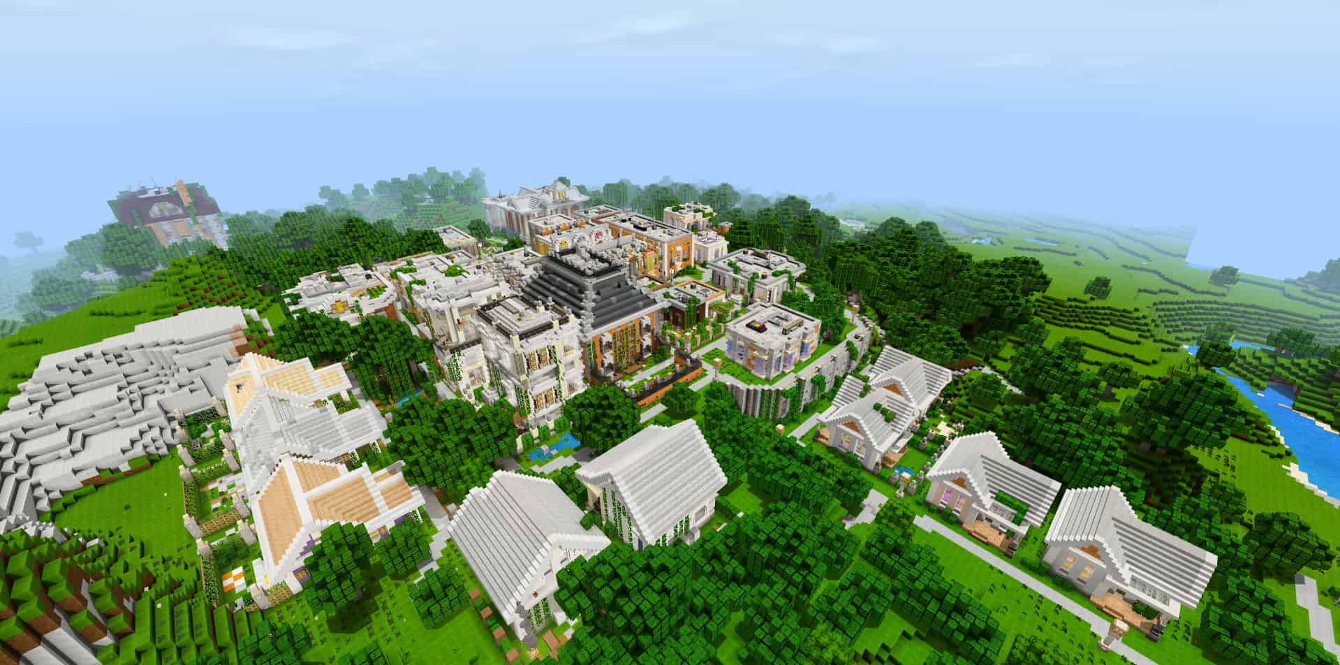 Project Bloomingdale | Minecraft PE Maps