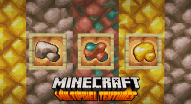 MultiPixel Texture Pack for Minecraft [32×32]