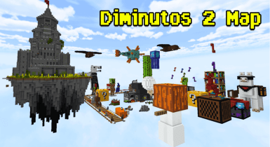 Diminutos 2 Map for MCPE (Survival/Adventure)