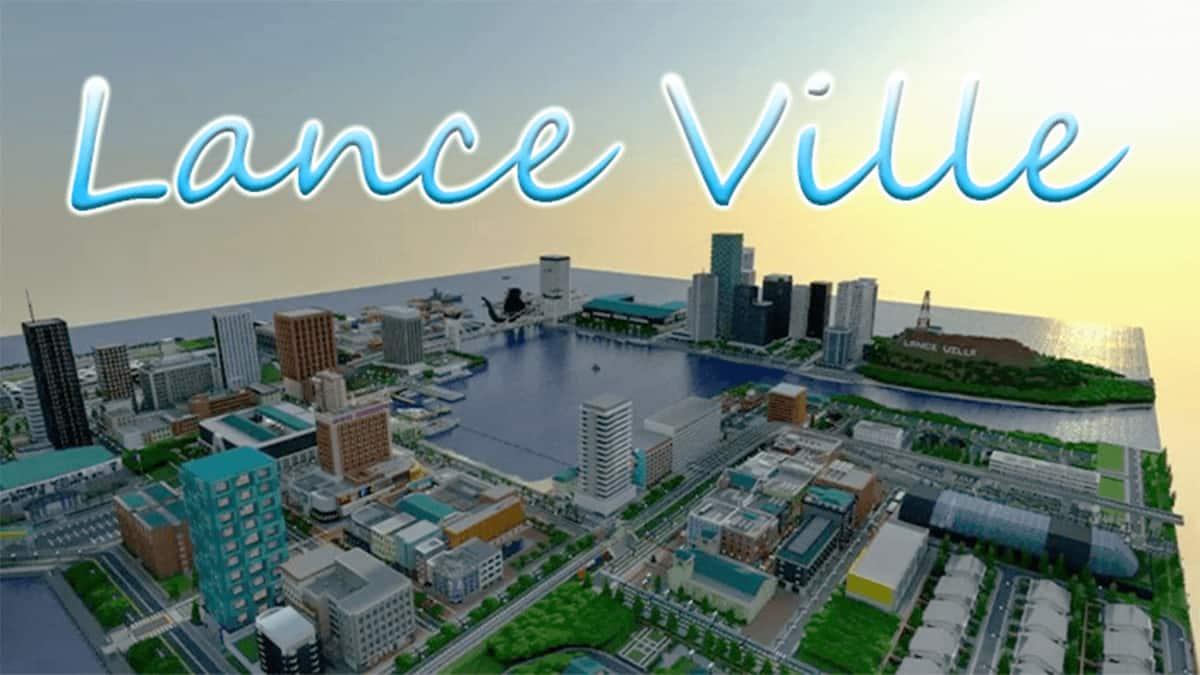 Lance Ville,creation map,island,Lance Ville map
