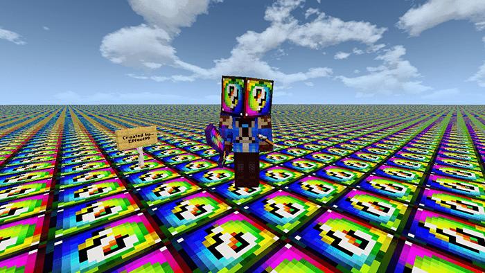 Flat Lucky Worlds,Custom Terrain