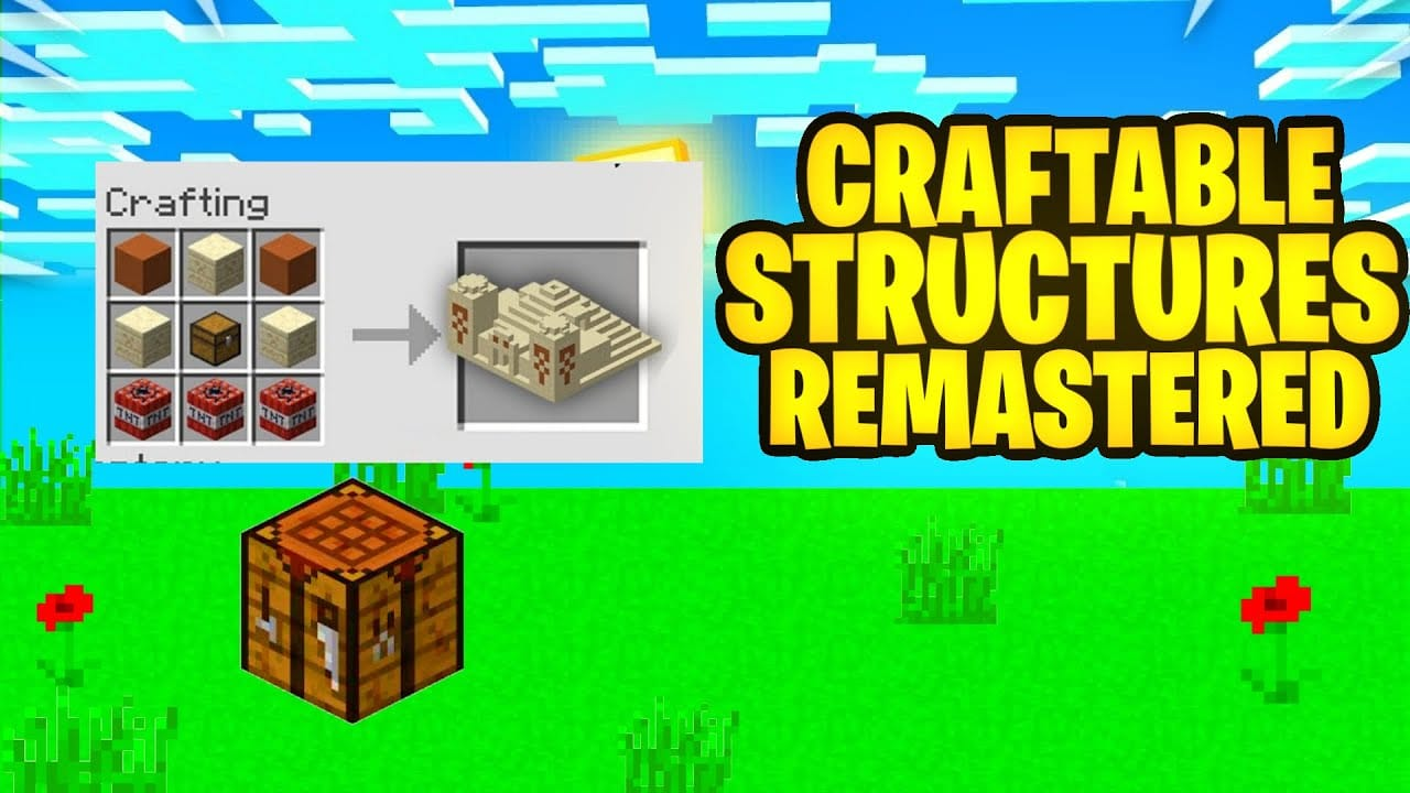 craftable structures remastered