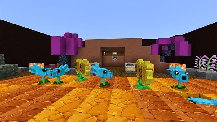 Minecraft PvZ 2