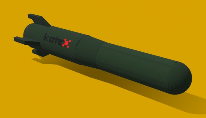 Tesco Trolley Laser Hunter X