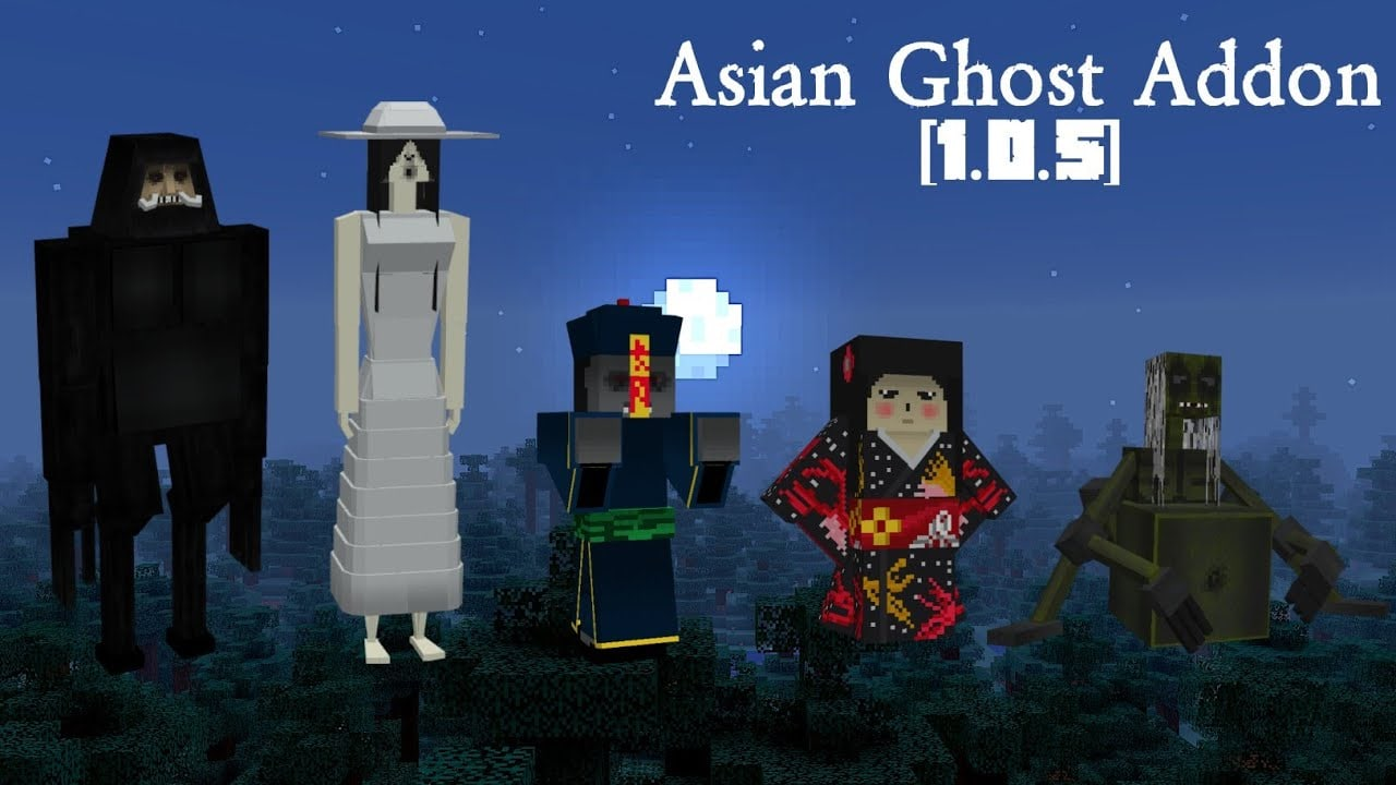 Asian Ghost Addon for Minecraft [horror] 1.0.5