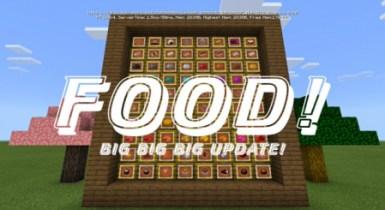 Food Addon Minecraft