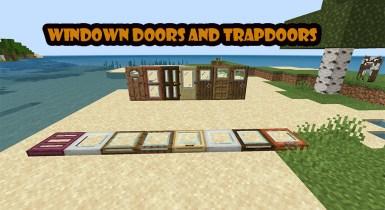 Windowed Doors and Trapdoors Texture