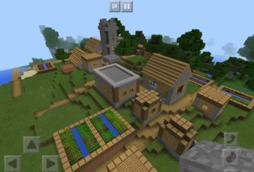 cave village seed minecraft nature unusual seeds pe itself created place which