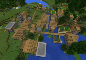 minecraft village seed blacksmiths triple spawn seeds pe bad loot mcpedl