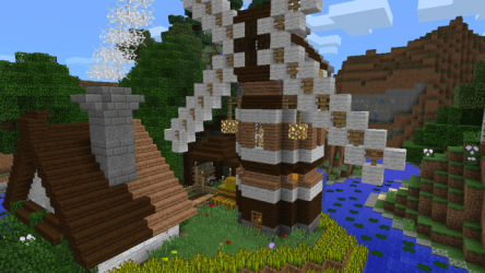 Small Stream Cottage [Creation] Minecraft PE Maps