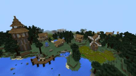 village medieval mcpedl minecraft maps creation