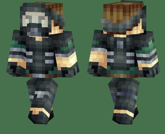 Police Minecraft Riot Skin