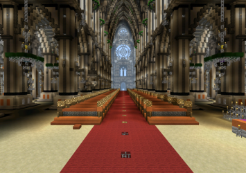 cathedral minecraft creation mcpedl
