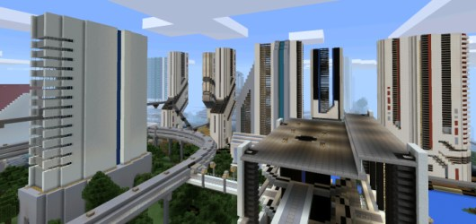 minecraft future maps pe mcpedl futurecity