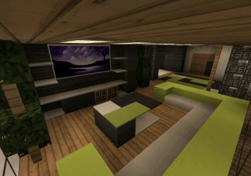 casa moderna minecraft pe mediafire creation map