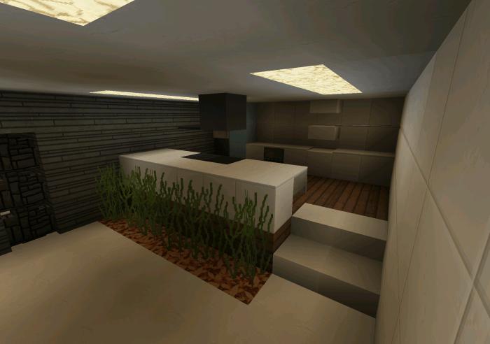 Casa Moderna Creation Minecraft PE Maps