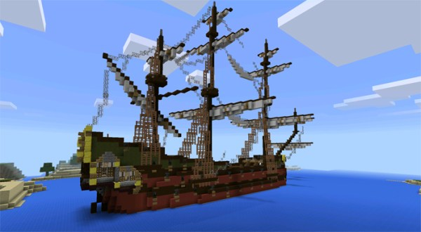 pirate ship minecraft # 9