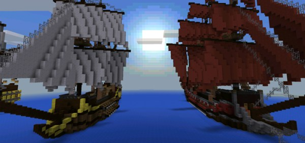 pirate ship minecraft # 47