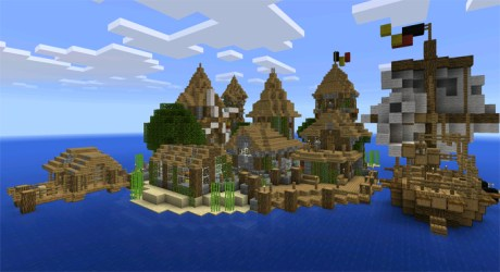 village medieval island minecraft creation maps pe ghost mcpedl