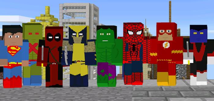 project superhero mod minecraft