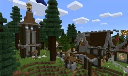 Fantasy Town [Creation] Minecraft PE Maps