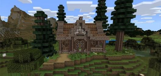 Simple Medieval House [Creation] Minecraft PE Maps
