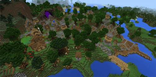 medieval minecraft map town maps mcworld pe mcpedl creation