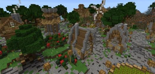 Medieval City [Creation] Minecraft PE Maps