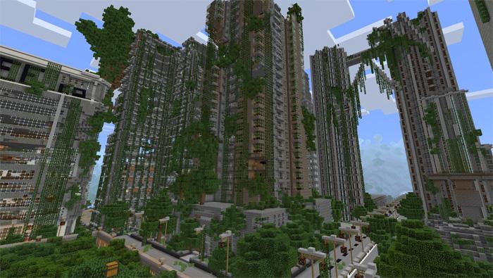 Apocalyptic City Survival Games PvP Minecraft PE Maps