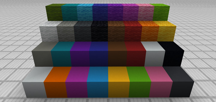 New 112 Color Palette Pack Minecraft PE Texture Packs