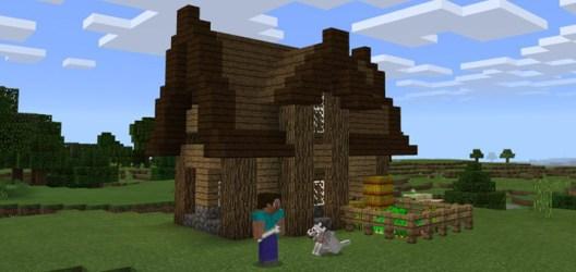 Simple Starter House [Creation] Minecraft PE Maps