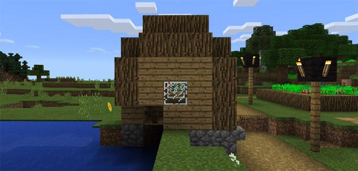 102839823 Small Glitched Village Minecraft PE Seeds