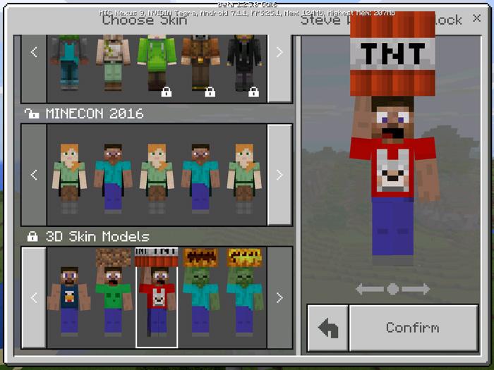 3d models skin pack