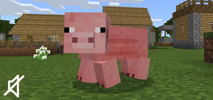 Nenhum Pacote de sons de animais de fazenda - Minecraft