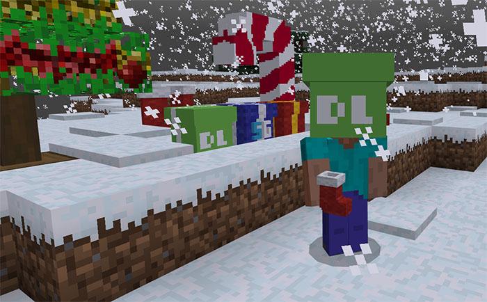 Sg Christmas Decorations Addon Minecraft Pe Mods Addons