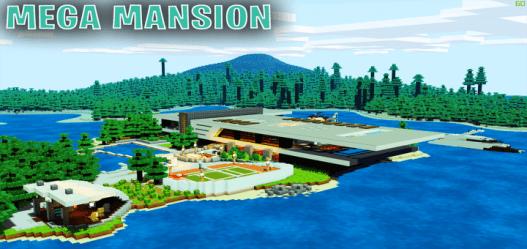 mansion minecraft mega modern island massive sg pe