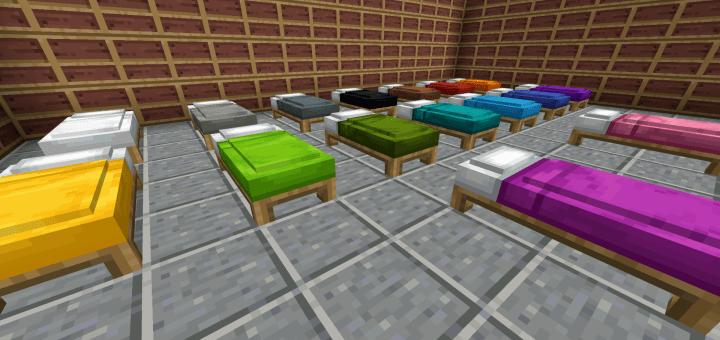 comfy beds 1 14 minecraft pe