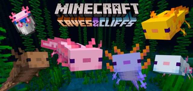 Axolotls Replica Concept | Minecraft PE Mods & Addons