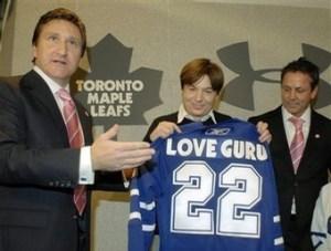 "Myers' Cursed ""Love Guru"""